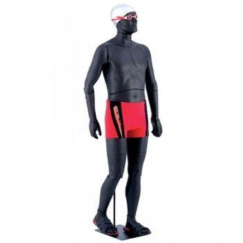 Mannequin vitrine homme flexible lid