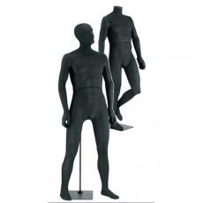 Mannequins homme flexible 00100bb noir