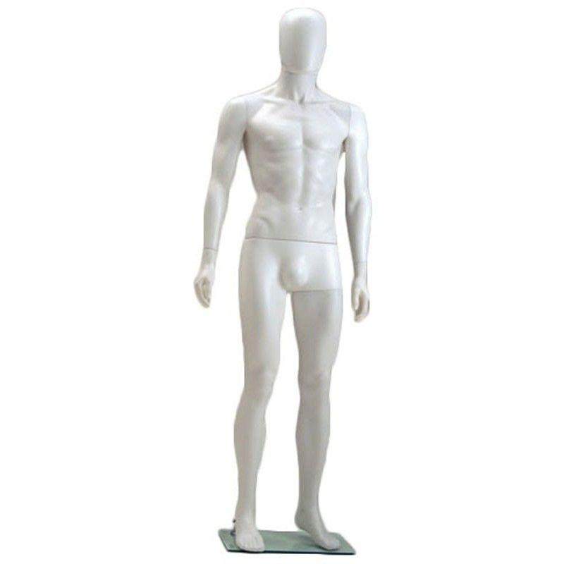 Maniqui de plastico caballero smh-1