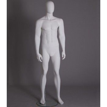 Pack mannequins vitrine hommes abstraits