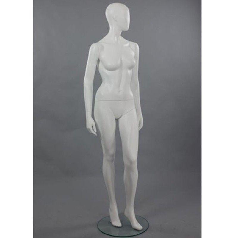 Mannequin vitrine femme abstraite dis cha3