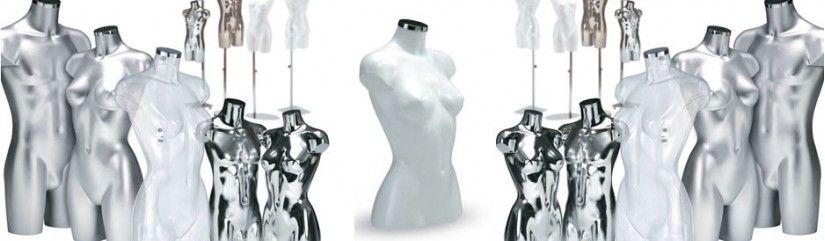 Buste mannequin femme