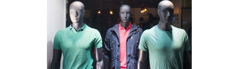 Mannequins homme abstraits