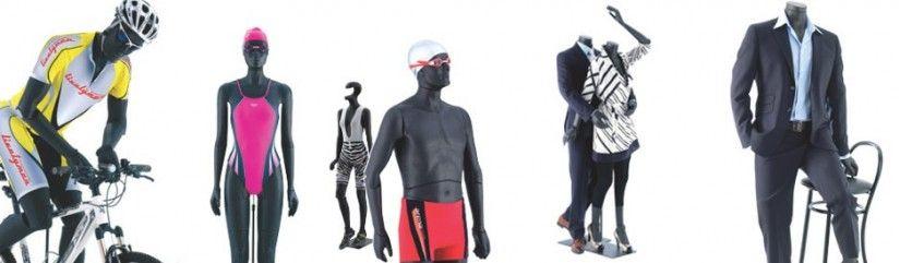 Mannequins flexible homme