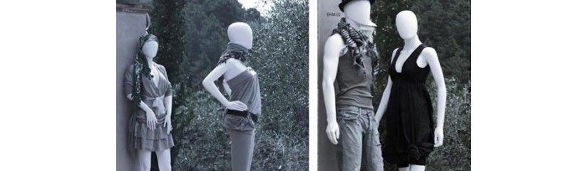 Mannequins plastique femme