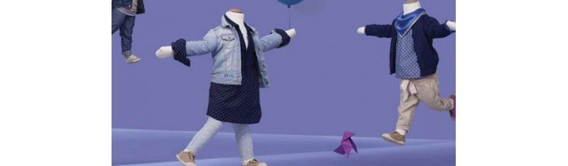 Flexible Kinderschaufensterpuppe